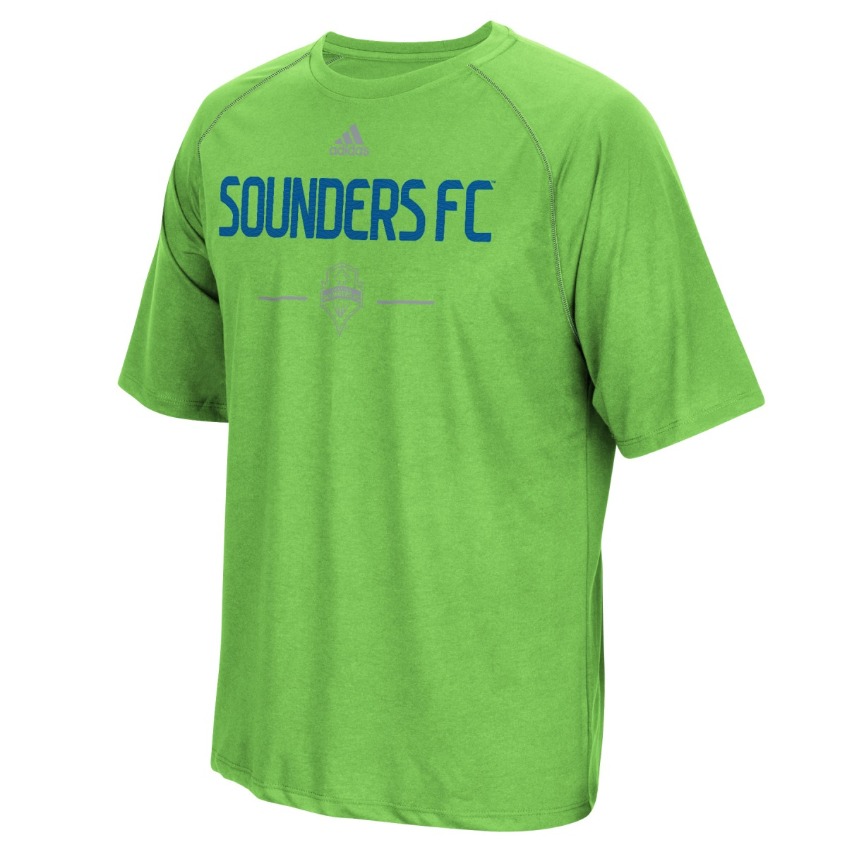 Seattle Sounders Adidas MLS Authentic Climalite Performance T-Shirt