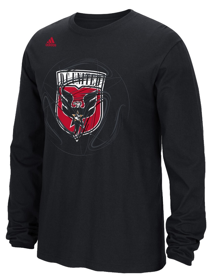 "D.C. United Adidas MLS ""Prime Time II"" Long Sleeve T-Shirt"