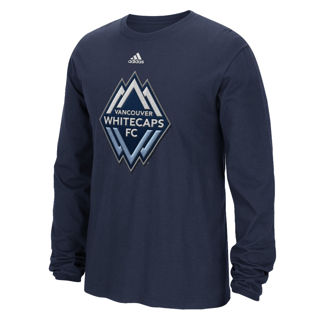 "Vancouver Whitecaps Adidas MLS ""High End Patch"" Men's Long Sleeve T-Shirt"