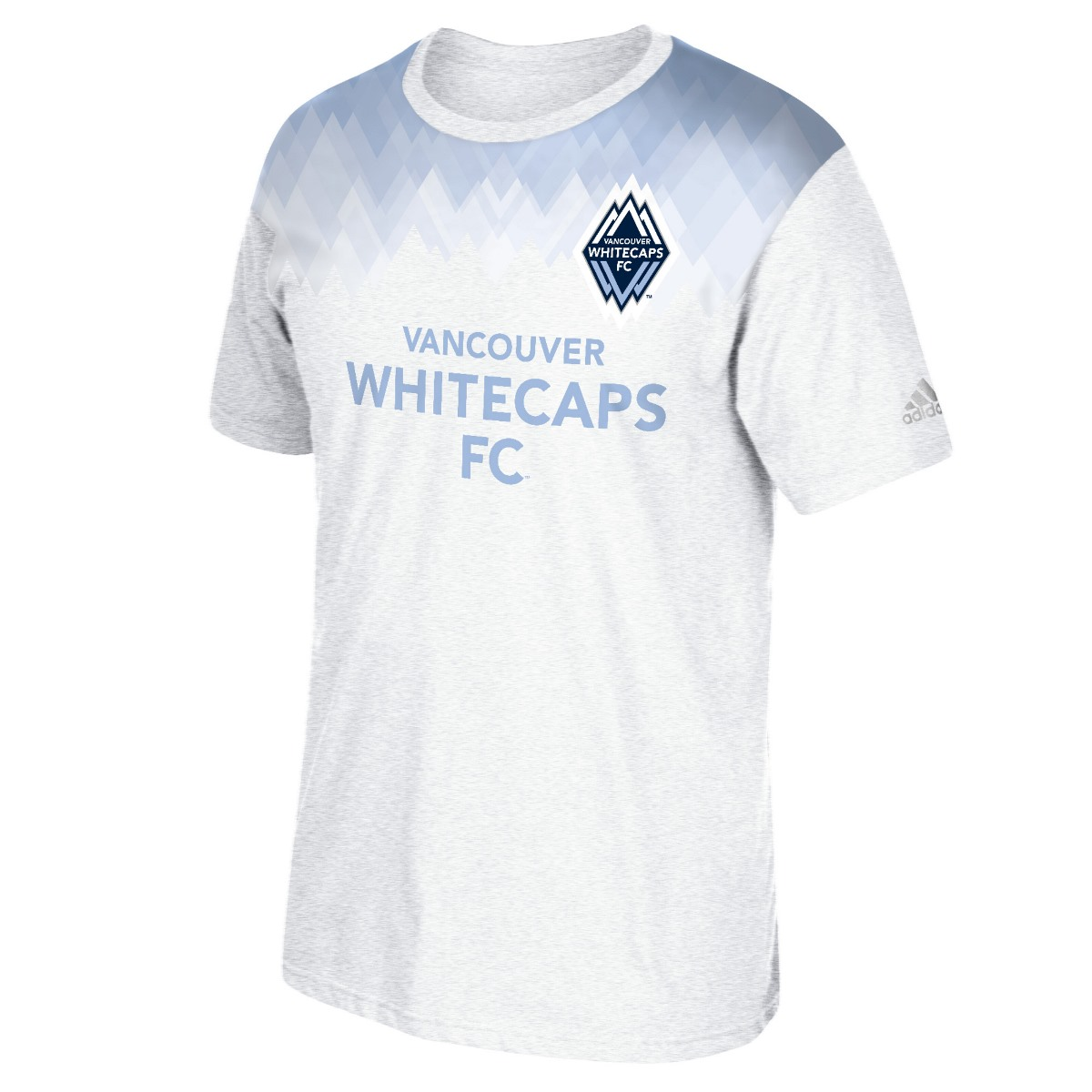 Vancouver Whitecaps Adidas MLS Performance Men's Short Sleeve Jersey T-Shirt