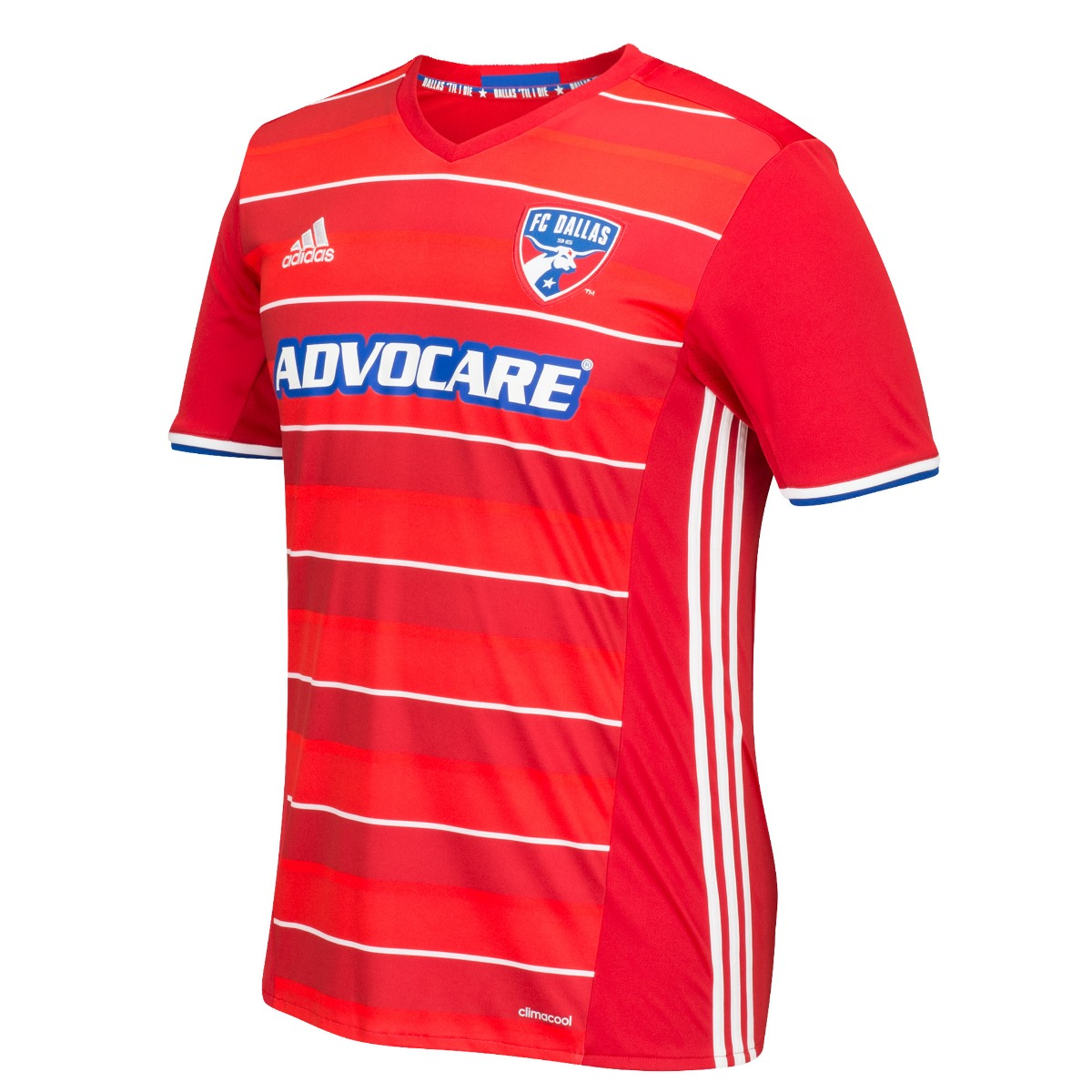 FC Dallas Adidas MLS Climalite Men's On-Field Replica Short Sleeve Jersey