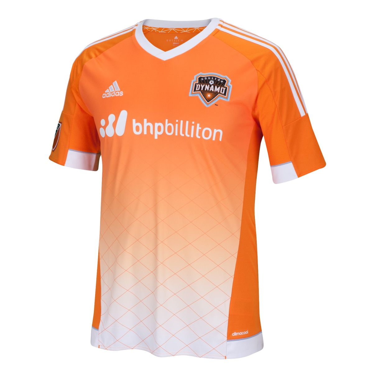 Houston Dynamo Adidas MLS Performance Replica Jersey - Orange