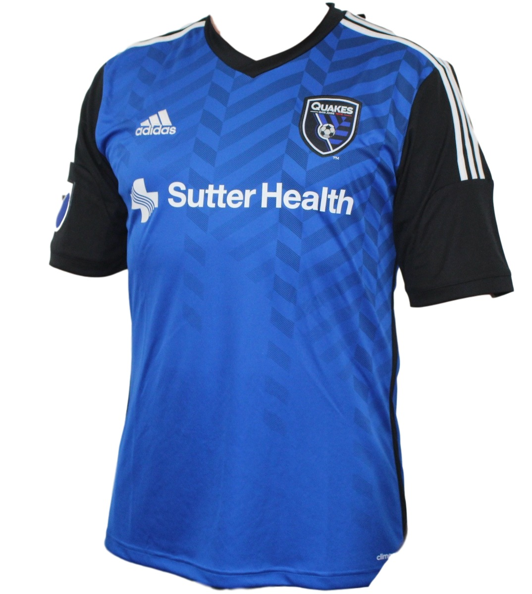 San Jose Earthquakes Adidas MLS Performance Replica Jersey - Blue