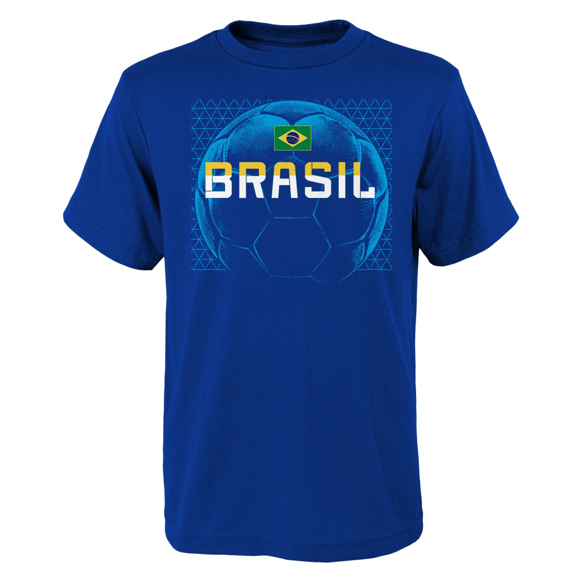 "Team Brazil World Cup Soccer Federation ""Penalty Kick"" Men's T-Shirt"