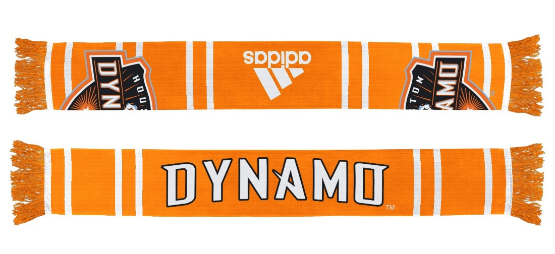 "Houston Dynamo Adidas MLS ""Performance"" Jacquard Team Scarf"