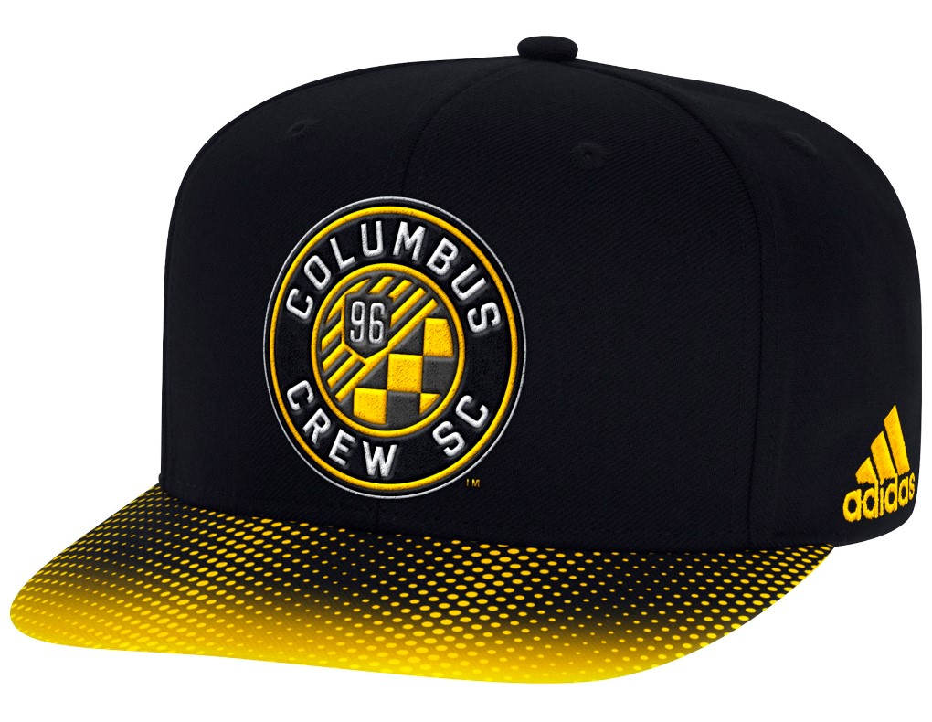 Columbus Crew Adidas MLS Sublimated Dot Embroidered Snap Back Hat