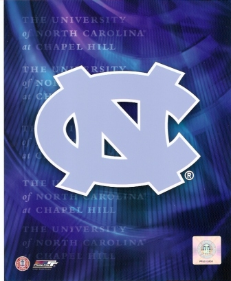 North Carolina Tarheels Logo 8x10 Photo
