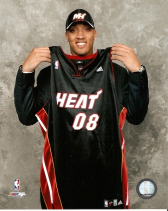 Miami Heat Michael Beasley NBA Draft 8x10 Photo