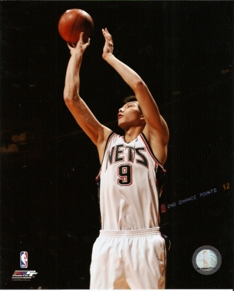 Yi Jianlian Nets Shooting 8x10 Photo