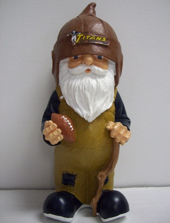 New York Titans AFL Retro Garden Gnome