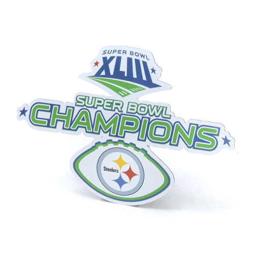 Pittsburgh Steelers Super Bowl XLIII Champions 7'' Magnet