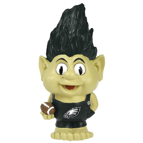 Philadelphia Eagles NFL Large Troll Figurine