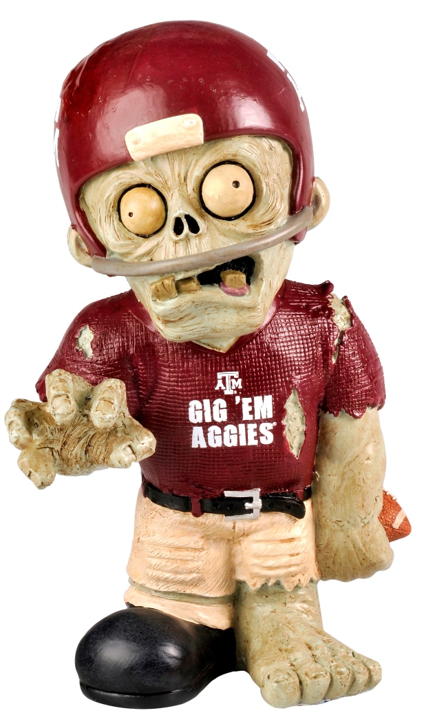 Texas A&M Aggies NCAA 8'' Thematic Zombie Figurine