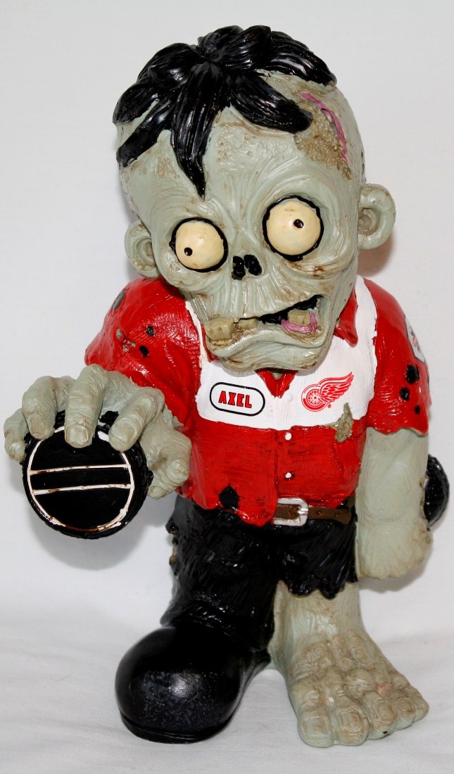 Detroit Red Wings NHL 8'' Thematic Zombie Figurine